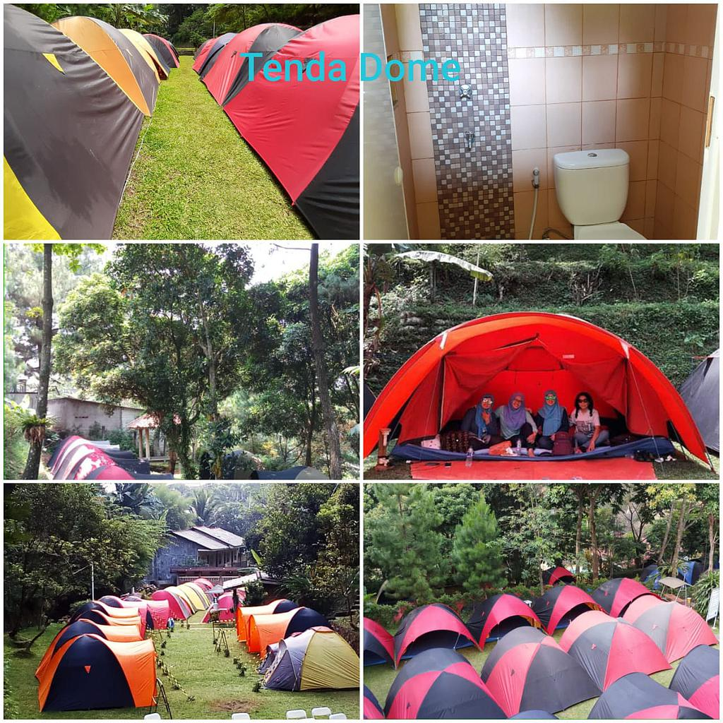 SOULCAMP GUNUNG GEULIS CAMPSITE -Tenda Dome + Breakfast